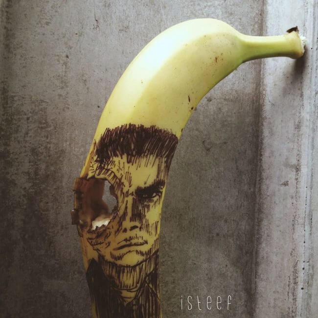 Stephan Brusche, art banane
