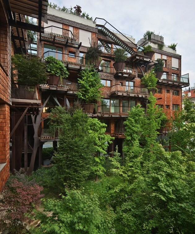 25 Verde, cabane, forêt verticale, Turin, Luciano Pia