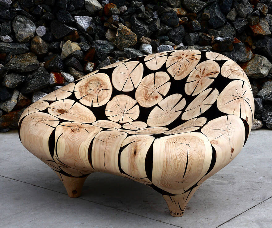 Jae Hyo Lee, sculptures de bois