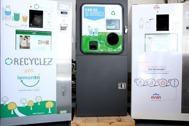 Lemon Tri, machines recyclage