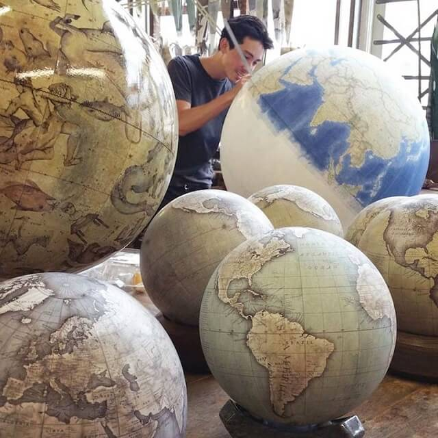 Bellerby and Co Globemakers, globe terrestre, Londres