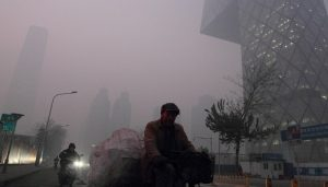 pollution de l'air en Chine, Pékin, record, COP21