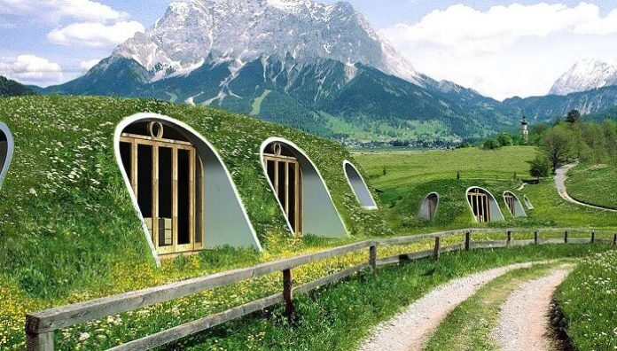 maisons de hobbit, Green Magic Home