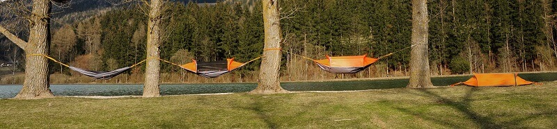 Flying tent, Imperméable, Moustiquaire