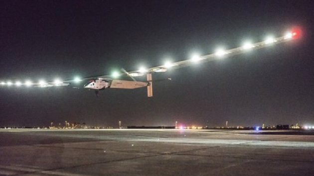 Solar Impulse 2 quitte l'Arizona et poursuit son tour du monde !