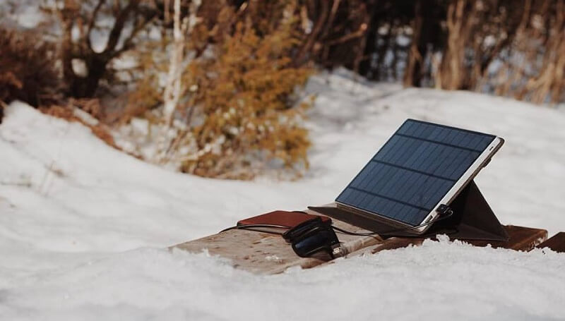 SolarTab, chargeur solaire