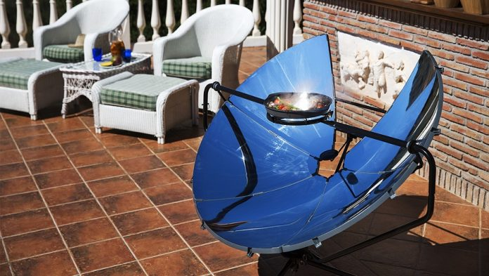 Barbecue solaire SolSource