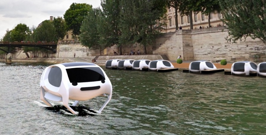 Sea Bubble, taxi volant sur la Seine