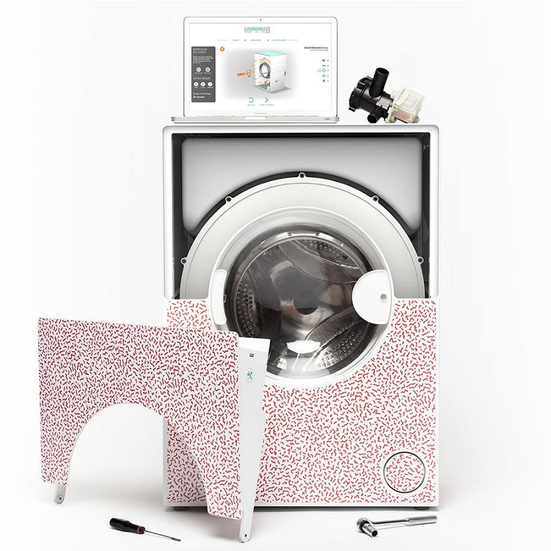 L'Increvable, lave linge