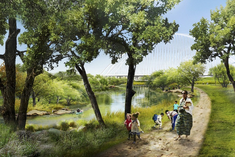 Trinity River Park, Dallas