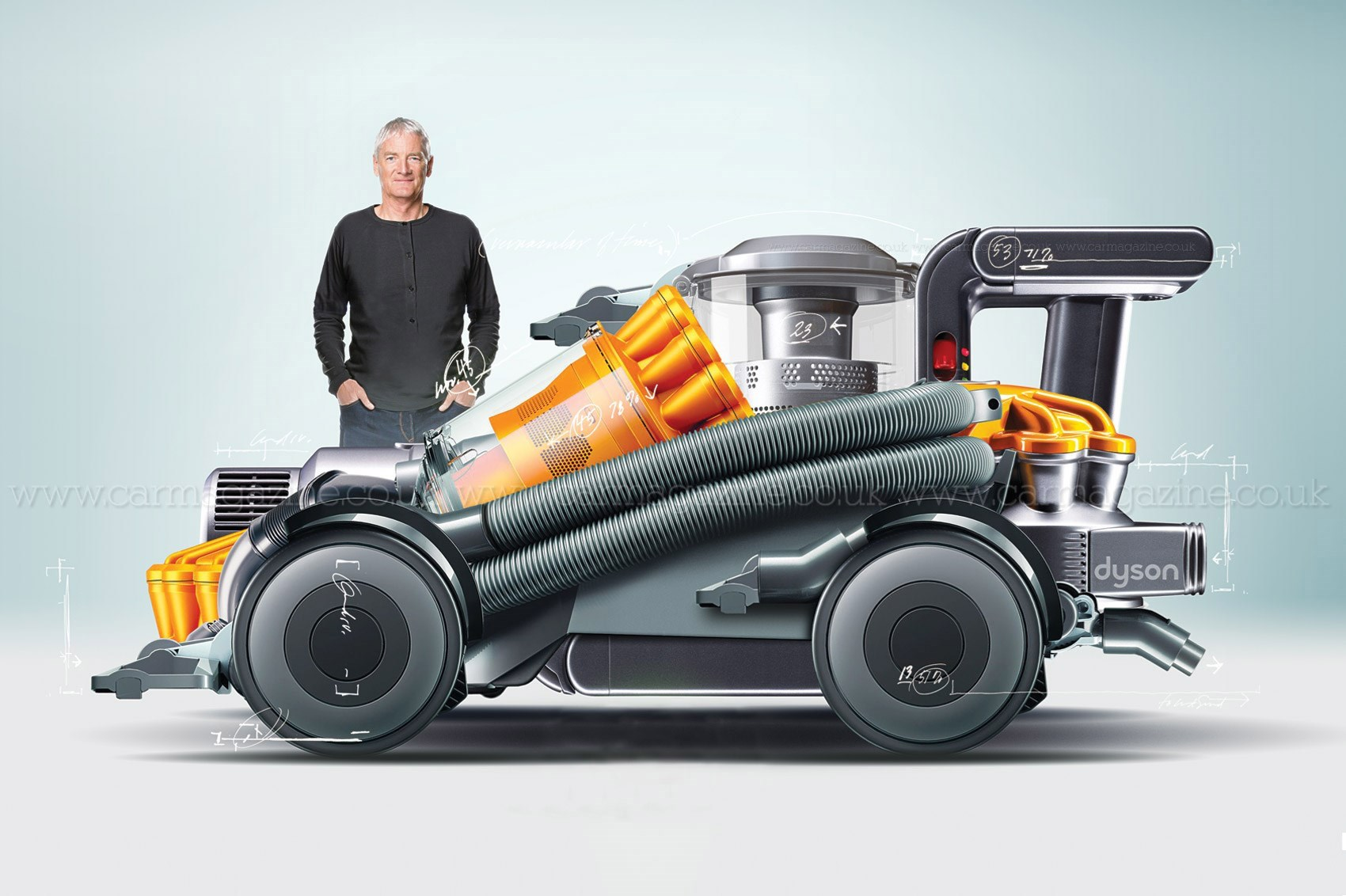 dyson se lance lui aussi dans le secteur du v hicule. Black Bedroom Furniture Sets. Home Design Ideas