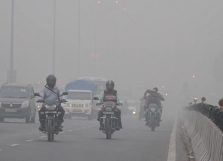 Les ecoles fermees a cause d'une pollution record a New Delhi